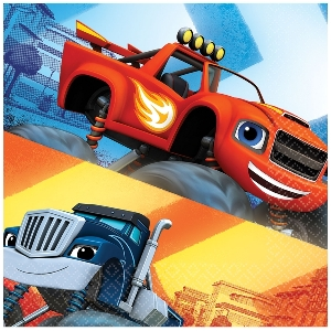 SERVILLETAS BLAZE AND THE MONSTER MACHINES