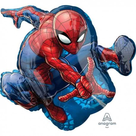 GLOBO SUPERFORMA DE SPIDERMAN