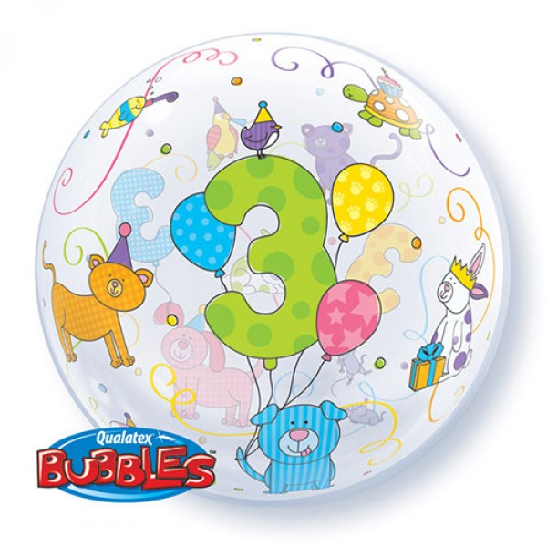 BUBBLE AGE 3 ANIMALES